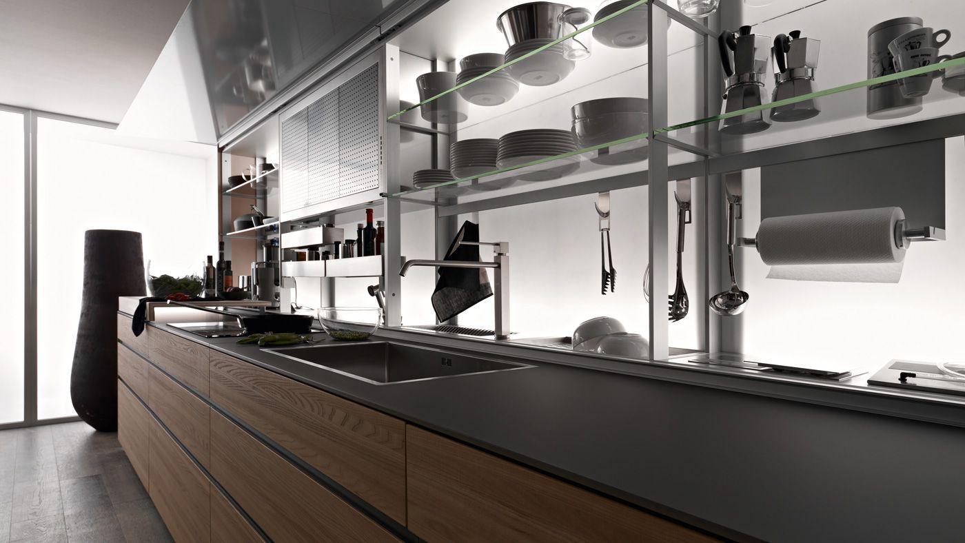 Valcucine Aziende Spagnoli Arredamenti Firenze Progettazione E  #667655 1400 788 Veneta Cucine O Valcucine